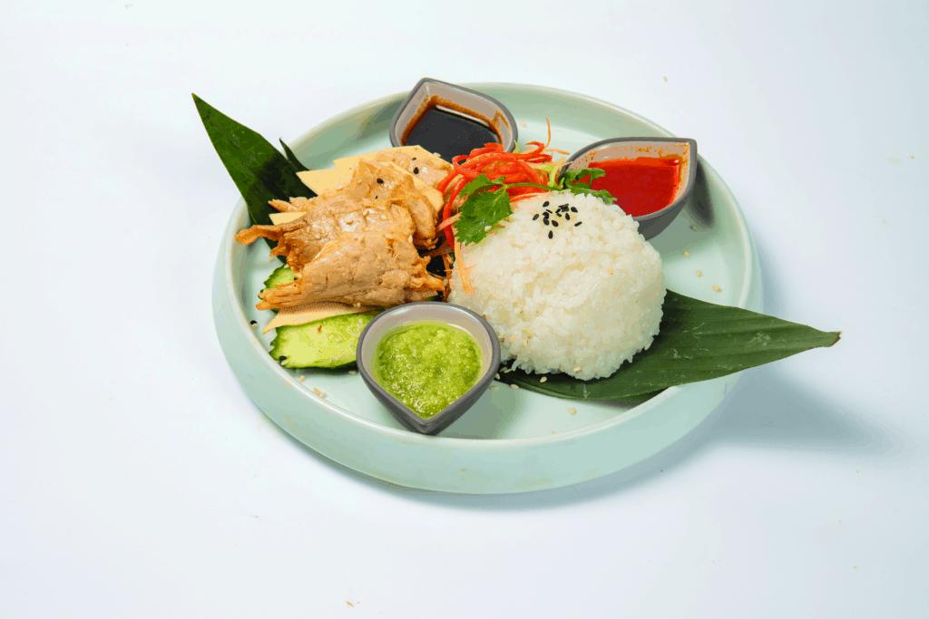 海南鸡饭 © Green Common