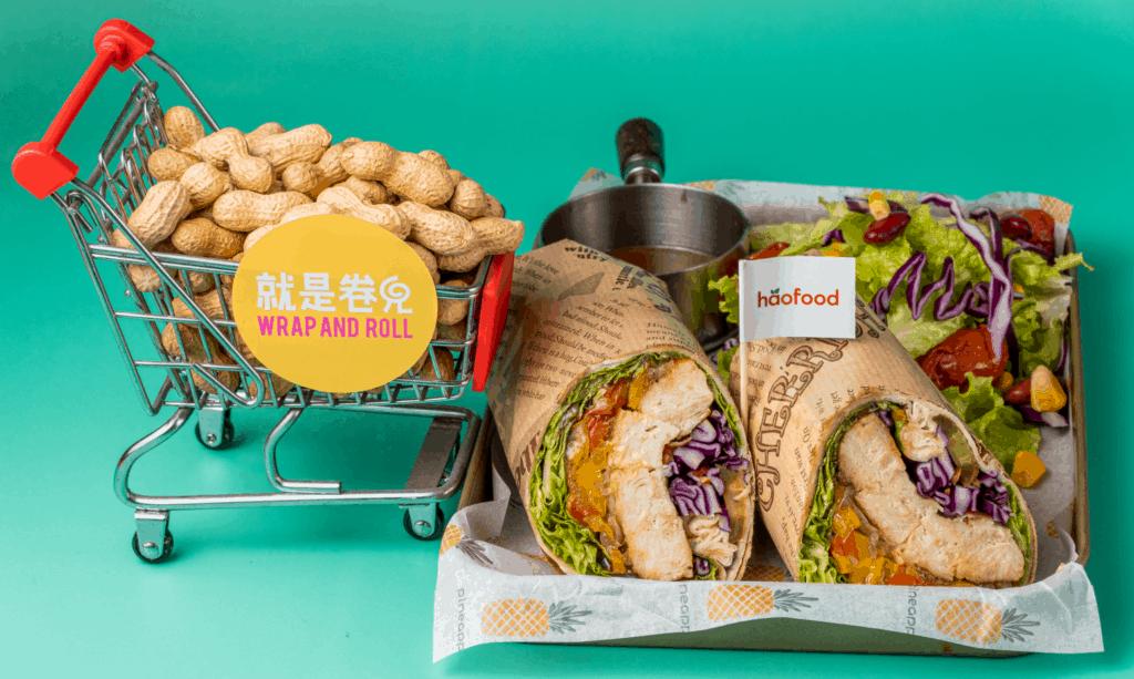 好福植物鸡肉美食 - 卷饼(Wrap and Roll餐厅)