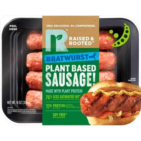 泰森食品公司全新推出纯素肉肠