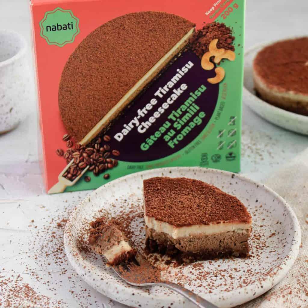 纯素芝士蛋糕 © Nabati Foods Global Inc.